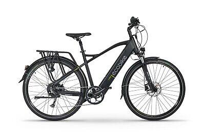 Hybrid Trekking Electric Bike - EcoBike X-Cross - Mens 20 Inch eBike E-Bike