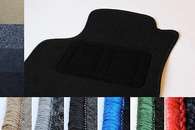 Fußmatten Auto Autoteppich passend für Audi 100 200 C2 C3 1982-1990