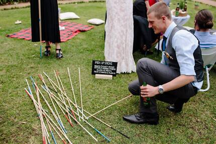 Giant Pick-Up Sticks for Hire – Wedding Picnic Party Event Games!