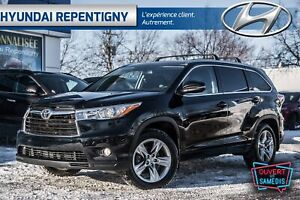 2015 Toyota Highlander LIMITED 4WD**CUIR, TOIT OUVRANT PANORAMIQ