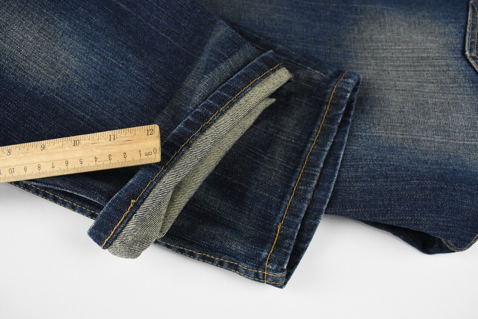 Levi strauss & co.514 homme w32/l30 slim straight fit fade effet jean 30578_s