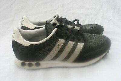 Adidas LA Trainer Black Grey UK 7