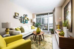 Uptown Waterloo New Modern One Bedroom + Den w/ Great Amenities!