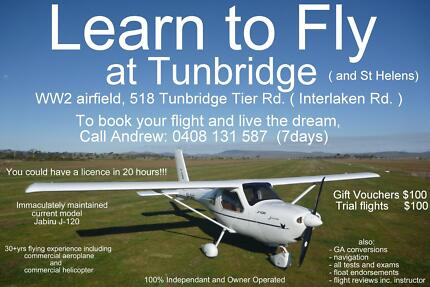 Midlands Flying School Hobart Region Preview