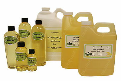 Premium Pure Organic Cold Pressed Aloe Vera Oil Moisturizer 2 oz up to 7 (7 Ounce Pure Aloe)