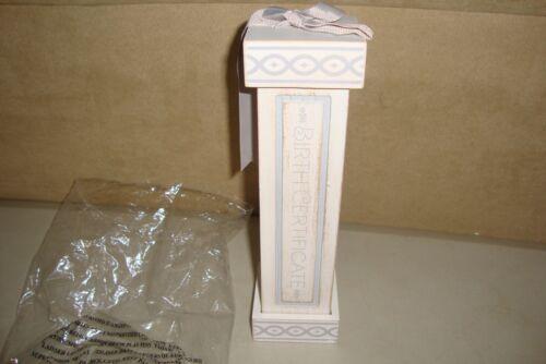 Grasslands Road Baby Birth Certificate Box/Holder Keepsake
