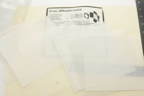 """Norman DF45 Diffusion Pack 6"""" High Temp Filters Only to fit 6""""- USED Clean E22B"""