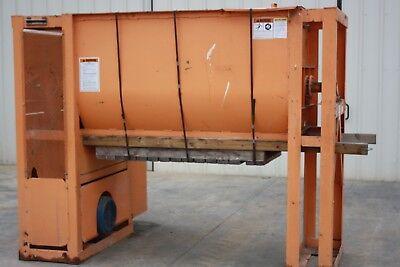 Davis Batch Mixer Ud10 Pneumatic Bottom Dump Bag Filler 30 Hp 72 L X 41 W Tank