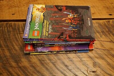 Lot of 9 Lego Ninjago/Chima  Books - Papercut and Scholastic