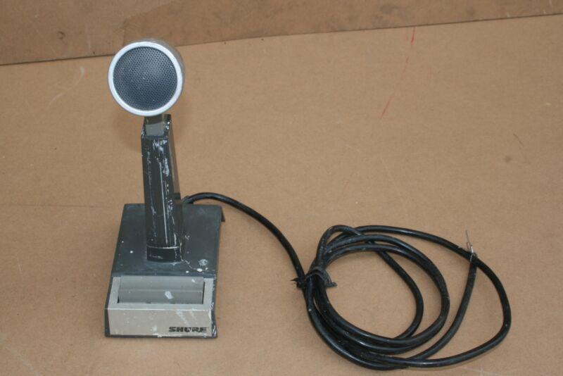 Shure 450 Base Station Microphone Pressure Mic series I