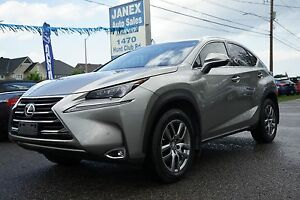 2015 Lexus NX 200t ACCIDENT FREE | ONE OWNER | Navi | R. Cam