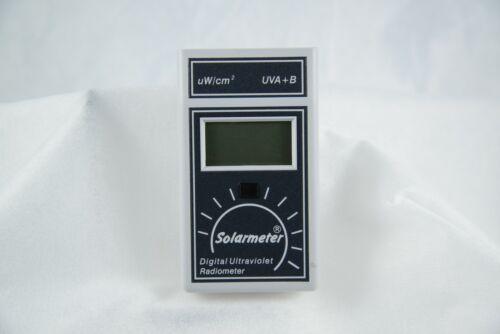 Solartech Solarmeter Digital Ultraviolet Radiometer Model 5.7