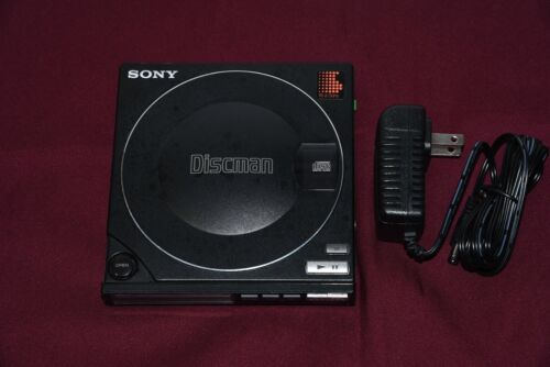 Sony Discman D-10 CD Player Working