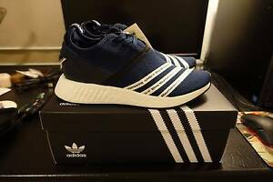 Adidas x White Mountaineering NMD R2 Navy and Black in US9 Sydney City Inner Sydney Preview