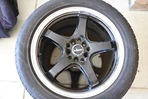 4 SPORT RIMS TYRES FOR ANY MITSUBISHI OR LANCER CAR