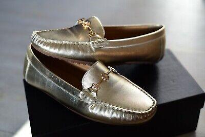 Womens exclusive Moccasins shoes KAZAR, Gold Leather, UK 5, EUR 38 na sprzedaż  Wysyłka do Poland