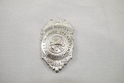 GÖDE Feuerwehrabzeichen Fire Fighter Colorado Springs  Feuerwehrmarke  ( WR8)16 ()