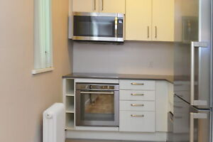 Fully Renovated Bachelor unit . Woodbine and St Clair