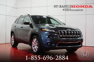 Jeep Cherokee 2015 LIMITED + NAV + MAGS + CAMÉRA + SUPERBE !!!