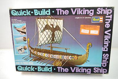 REVELL H-326 Viking Ship / Vikingerschiff QUICK BUILD Modellbausatz (F2)
