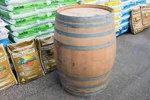 Hogshead Genuine Oak Wood Outdoor Patio Full Wine Barrel Table Fairy Meadow Wollongong Area Preview