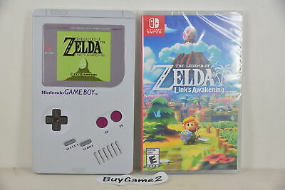 Switch Legend of Zelda Link's Awakening (US) + Game Boy Limited Steelbook)