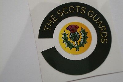 16 THE  SCOTS  GUARDS CROWN GREEN BOWLS  STICKERS  8 FINGER + 8 THUMB LAWN BOWLS
