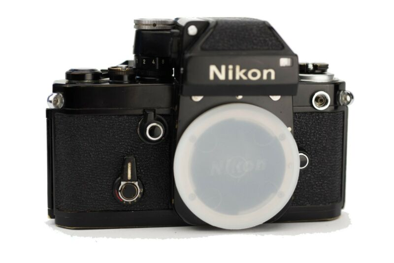 Nikon F2 W/ DP-1 Replacement Cover - Laser Cut Recovery Leather
