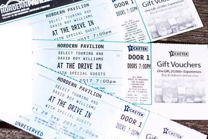 3x At The Drive In tickets Sydney 29th
