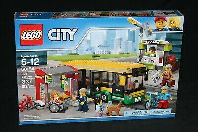 LEGO CITY 60154 BUS STATION (2017) BRAND NEW SEALED
