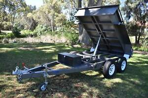 NEW 8X5 3250KG HYDRAULIC TIPPER - AUSTRALIAN MADE Holden Hill Tea Tree Gully Area Preview