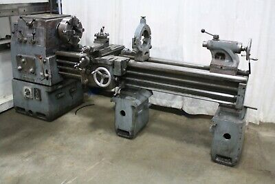 18 X 60 Mueser Gap Bed Engine Lathe Yoder 67231