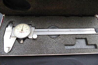 Starrett No. 120 Dial Caliper 0-6 .001 With Case