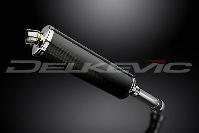 """Used, Delkevic 18"""" Carbon Fiber Oval Slip-On Muffler - BMW K1300S - 2009-2015 Exhaust for sale  Englewood"""
