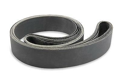 2 X 72 Inch 320 Grit Silicon Carbide Sanding Belts 6 Pack