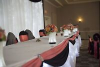Head Table Skirting - For Rent