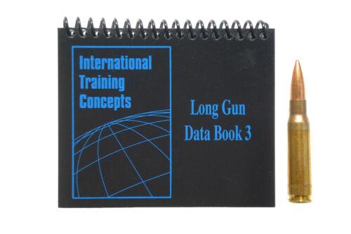 ITCMarksmanship Data Book 3 Sniper, Military, Long-range rifle