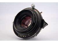 Steinheil V-Quinon 210mm f//5.6  Large Format Lens Body Only No Glass