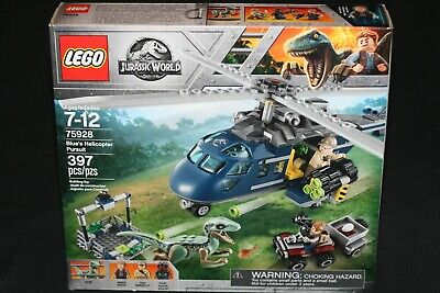 LEGO JURASSIC WORLD 75928 BLUE'S HELICOPTER PURSUIT (2018) NEW SEALED