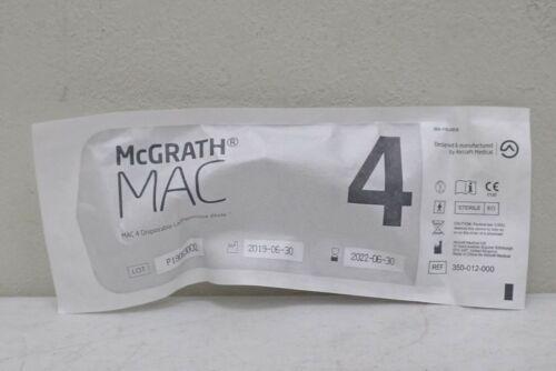 Aircraft McGrath MAC 4 350-012-000 Disposable Laryngoscope Macintosh Blade MAC4