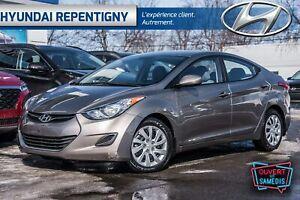 2013 Hyundai Elantra GL 4 PORTES**A/C, GROUPE ÉLECTRIQUE**