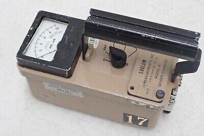 Ludlum Inc Model 6 Geiger Counter