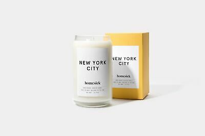 Homesick Hand-Poured Scented Candle - New York City 13.75oz