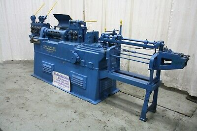 38 Lewis Model 8f Wire Straightener Cutoff Yoder 69477