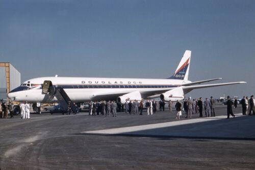 """Douglas DC-8 ((8.5""""x11"""")) Print"""