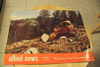 Vtg 1959 Allied News Brochure  International Harvester  China Peak Ca Ephemera