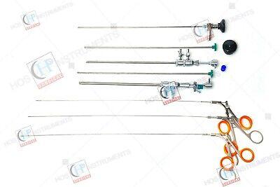 6pc Hysteroscopy Sheath Set With 4mm X 30 Degree Hysteroscope Instruments Set