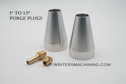 "TIG Welding Back Purge Plug 1"" to 1.5"""