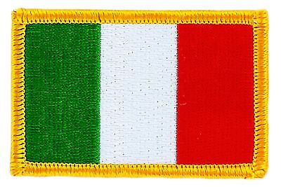 Italian Flag Patches (ITALY ITALIAN FLAG PATCHES COUNTRY PATCH BADGE IRON ON NEW EMBROIDERED)