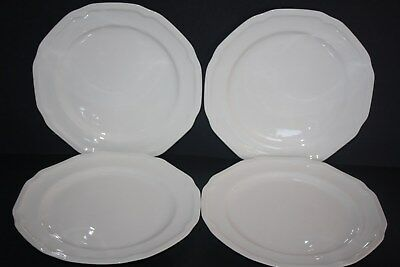 Set of 4 Mikasa Antique White (Bone China) Salad Plates Mikasa Antique White China